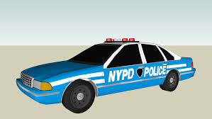 Old Nypd Police Car 3d Warehouse