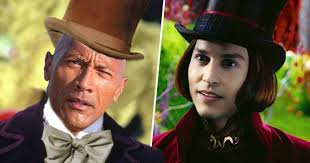The Rock Says He Battled Johnny Depp To Play Willy Wonka - UNILAD