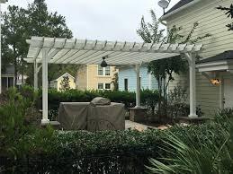 solid wood patio cover pergola kits