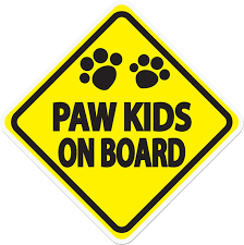 Imagine This Company Paw Kids Car Window Decal Chewy Com