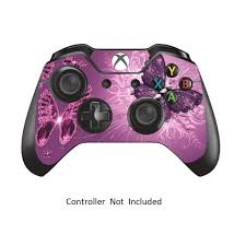 Skins Stickers For Xbox One Controller Xbox 1 Remote Protective Cover Wired Wireless Gamepad Decals Lavender Butterfies Walmart Com Walmart Com