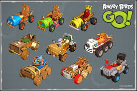 Angry Birds Go by paul-banister | Transport | 3D