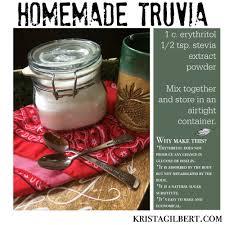 homemade truvia a natural sugar