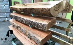 wood mantles l live edge modern and
