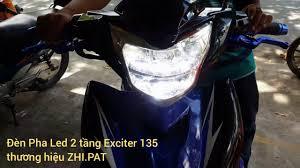 Đèn Led 2 tầng Exciter 135 phong cách Sh 300i - YouTube