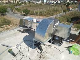 Xử lý mùi khí thải bếp ăn công nghiệp với máy khử mùi ozone DK20