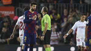 "barcacentre on Twitter: ""Piqué, Rakitić, Vidal, Junior, Braithwaite, Messi  and Suárez are one yellow card away from suspension. [md]… """
