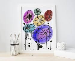 happy inspiration spring art flower
