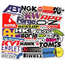 103pcs Auto Car Parts Nhra Drag Racing Lot Vinyl Graphics Stickers Decals Sheet Ebay