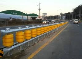 Well Designed Safety Roller Barrier Foam Roller Fence With Energy Absorption Function