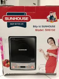 Bán bếp điện từ Sun house (mới, nguyên hộp) 450k