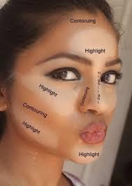 makeup to make face thinner saubhaya