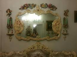 large antique victorian wall mirror