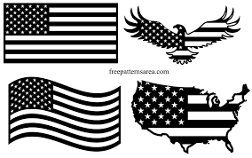 Usa United States American Flag Vector Images Freepatternsarea American Flag Drawing American Flag Images Flag Drawing