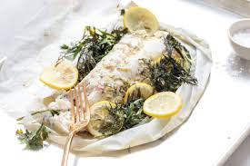 Fish en Papillote with Fresh Herbs and ...