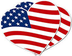 Amazon Com Jkena 2 Pack American Flag Sticker Permanent Heart Shaped Vinyl Sticker For Indoor And Outdoor For Cars Boats Windows Glass Truck Stickers Vinyl Flag Decal Handmade
