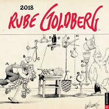 Official Rube Goldberg 2018 Wall Calendar: Amazon.co.uk: George, Jennifer:  Books