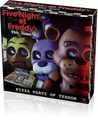 Five Nights At Freddy S Board Game Walmart Com Cinco Noches En