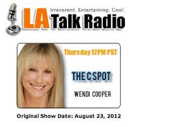 "Collette Is Guest on LA Talk Radio""s ""The C Spot with Wendi Cooper"" 