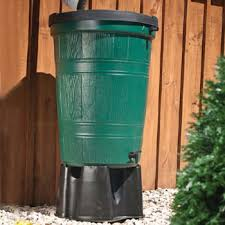 gravity feed rain barrel drip system