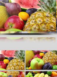 سوبر تنظيف جميع أنواع الفواكه الاستوائية مواد الفيديو الحقيقية