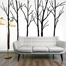 Extra Large Black Tree Branches Wall Art Mural Decor Sticker Transfer Living Room Bedroom Background Wall Decal Poster Decorative Stickers Wall Decalstree Branch Aliexpress