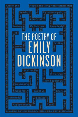 Image result for book cover the poetry of emily dickinson""
