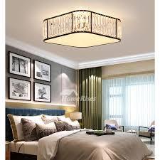 square ceiling light fixture flush