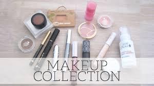 minimal makeup collection natural