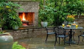 outdoor fireplaces charlotte