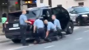 New video appears to show George Floyd on the ground with three ...