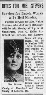Death of Ada Stevens - Newspapers.com