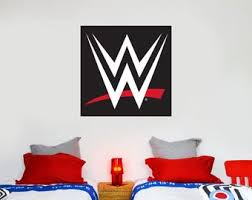 Wwe Decals Etsy