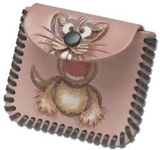 small change coin purse kit tandy leather