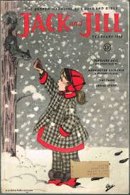 JACK AND JILL, February 1956, Volume 18, Number 4 (has PENNY and ...