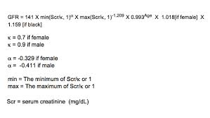 the ckd epi creatinine equation 2009