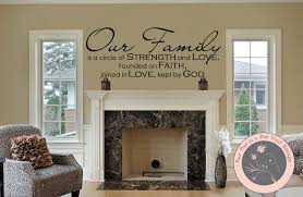 Our Family Family Wall Decals