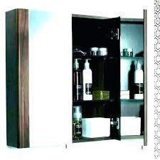 recessed medicine cabinet without
