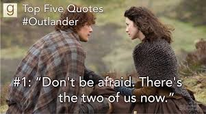 top five outlander quotes on news interviews