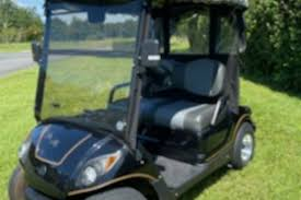 2010 green gas yamaha golf cart