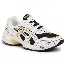 shoes asics gel 1090 1022a215 black