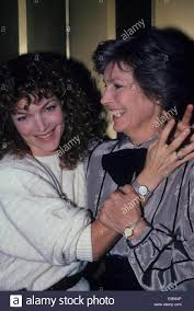 AMY IRVING with mother Priscilla Pointer.f3428.Supplied by Photos Stock  Photo - Alamy
