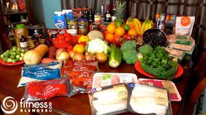 fitness blender grocery haul what