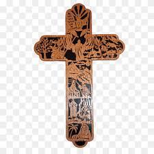 crucifix cross opposite