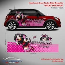 Nico Yazawa Itasha Side Graphic Decals Love Live School Idol Project