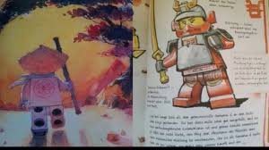 All Images Of The Lego Ninjago Book Of Spinjitzu!!! - YouTube