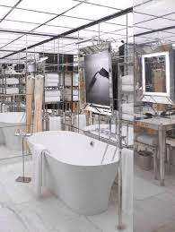 floor to ceiling mirror contemporary