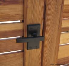 New Product Nero Contemporary Lever Gate Latch 360 Yardware