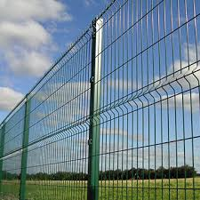 3d Curved Galvanized Welded Wire Mesh Fence For Highway Global Sources