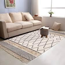 com tufted cotton area rug 2 3